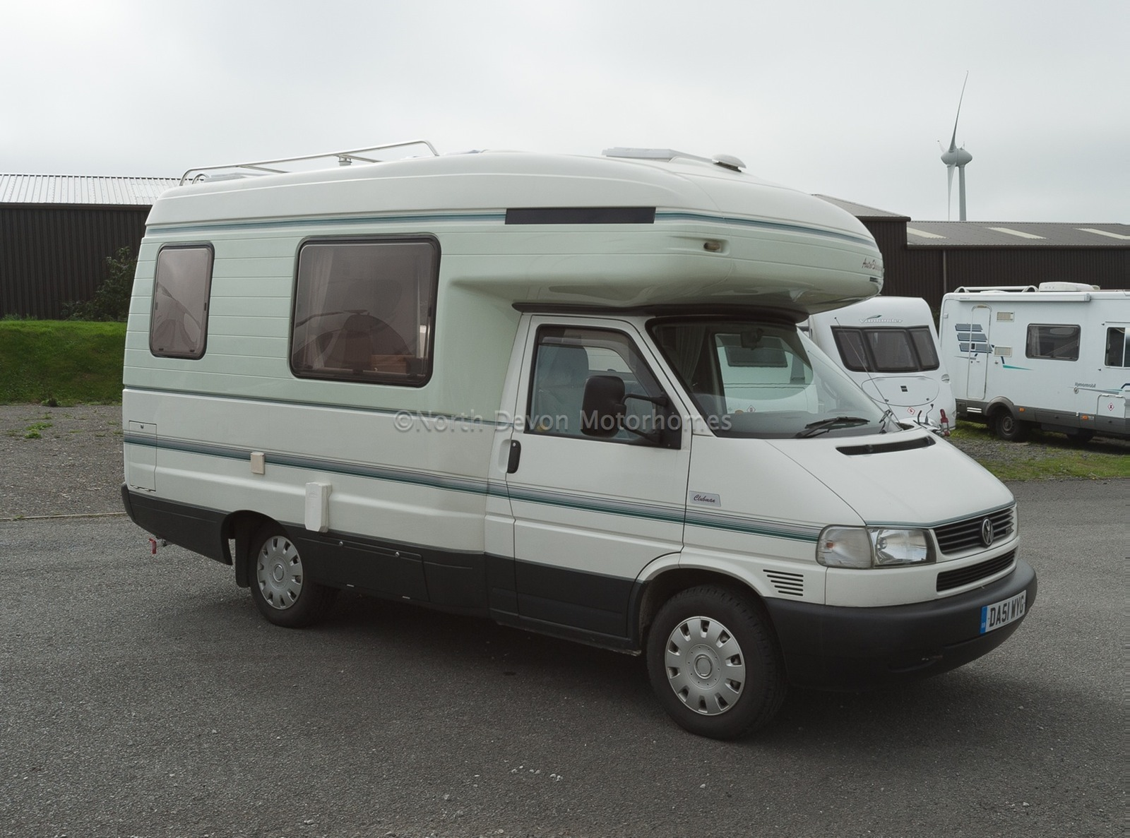 Sold Autosleeper Clubman 2002 4 Berth Only 33000 Miles