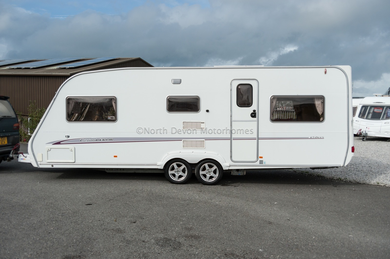 Sold 2005 Swift Conqueror 650 Lux 6 Berth Twin Axle