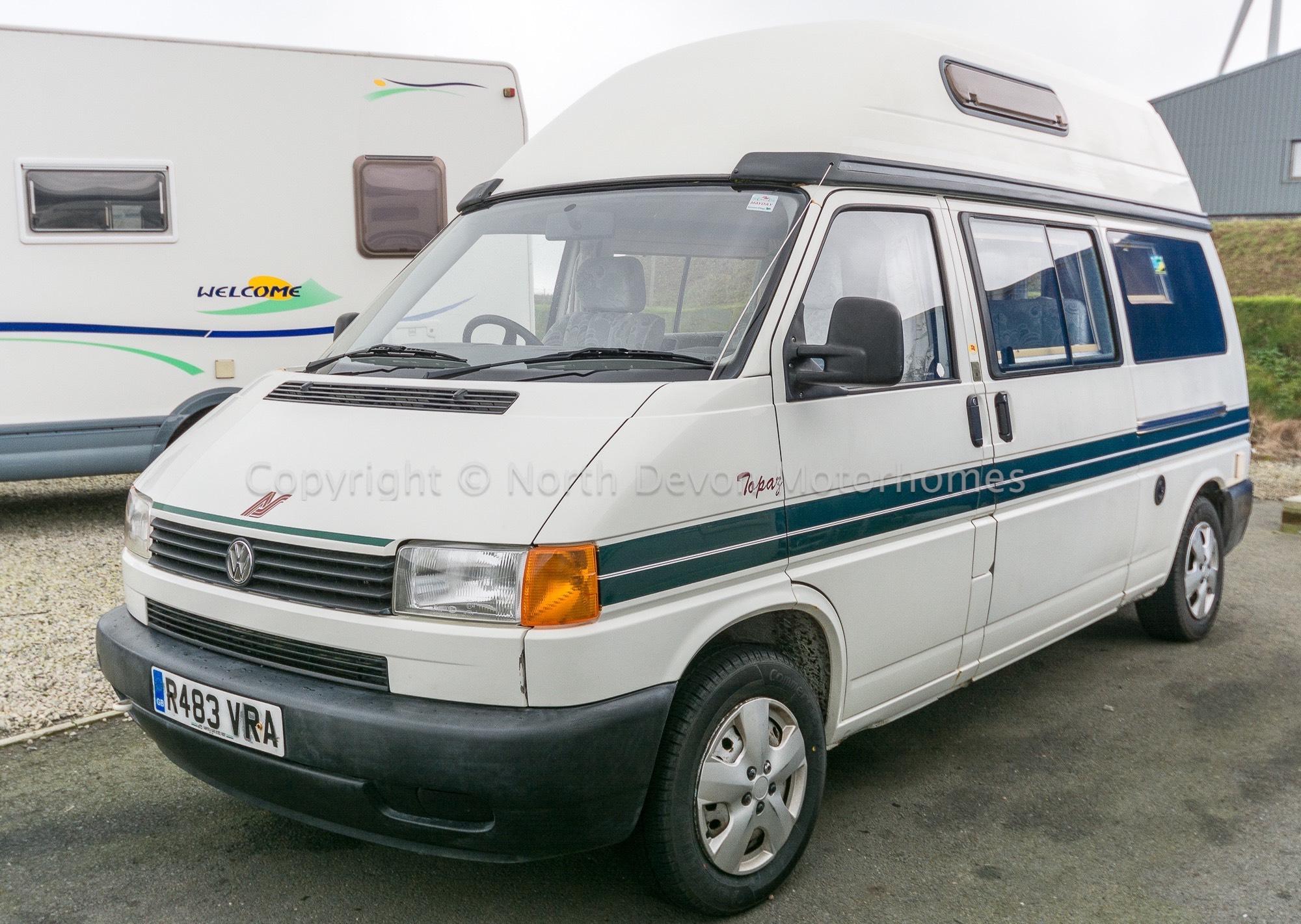 Sold Autosleeper Topaz Vw T4 Auto Petrol 1997 End
