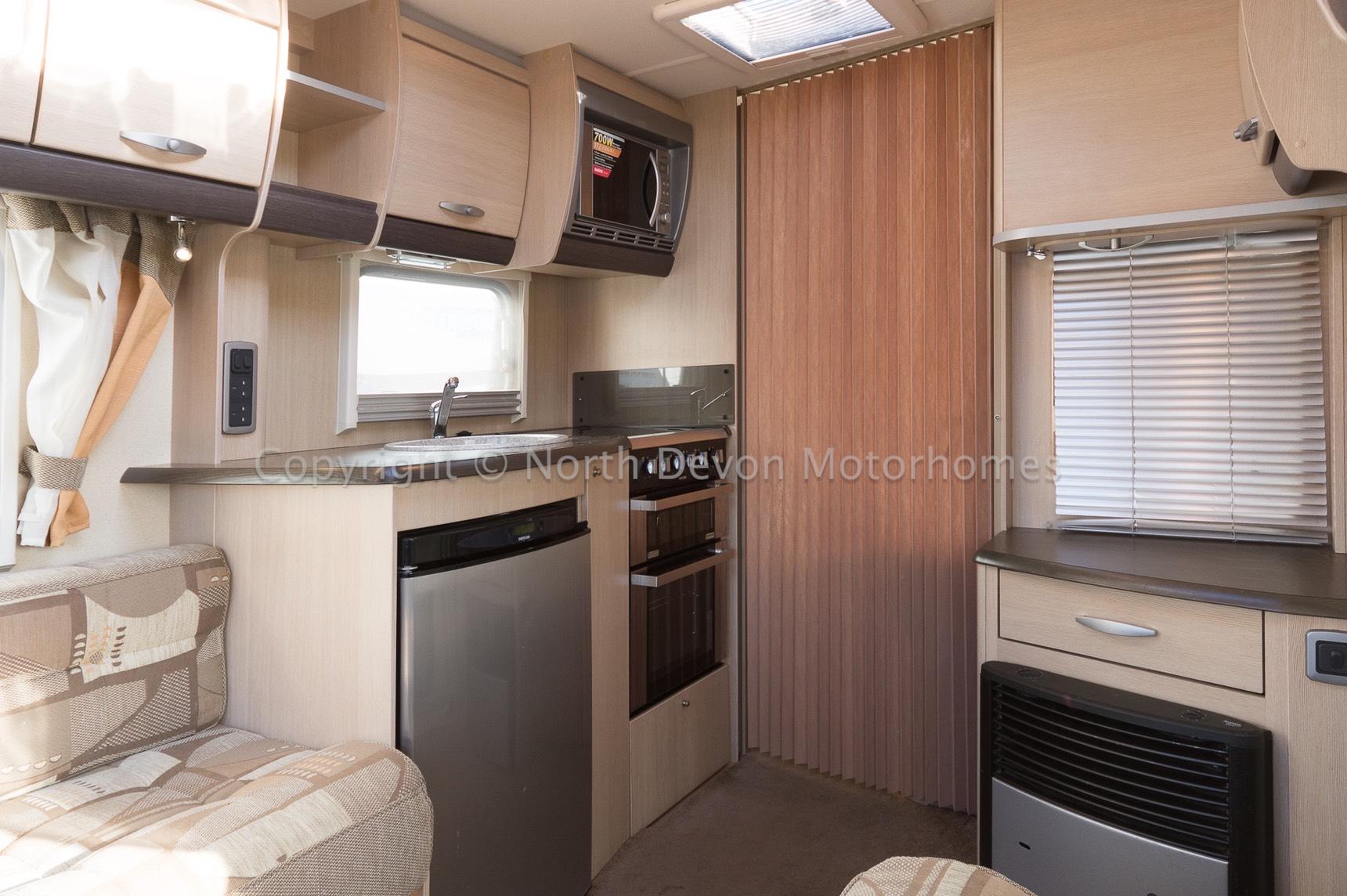 Sold Sterling Eccles Ruby 90 2010 4 Berth Caravan