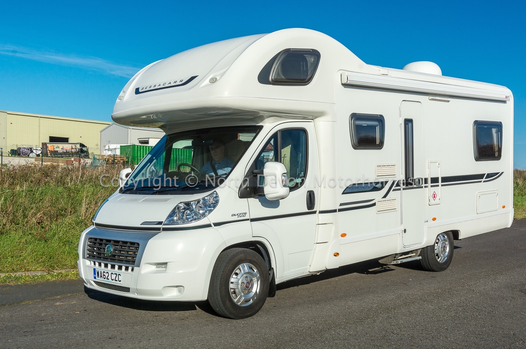 Sold Bessacarr E495 2013 6 Berth Fiat 2 3 6 Belted