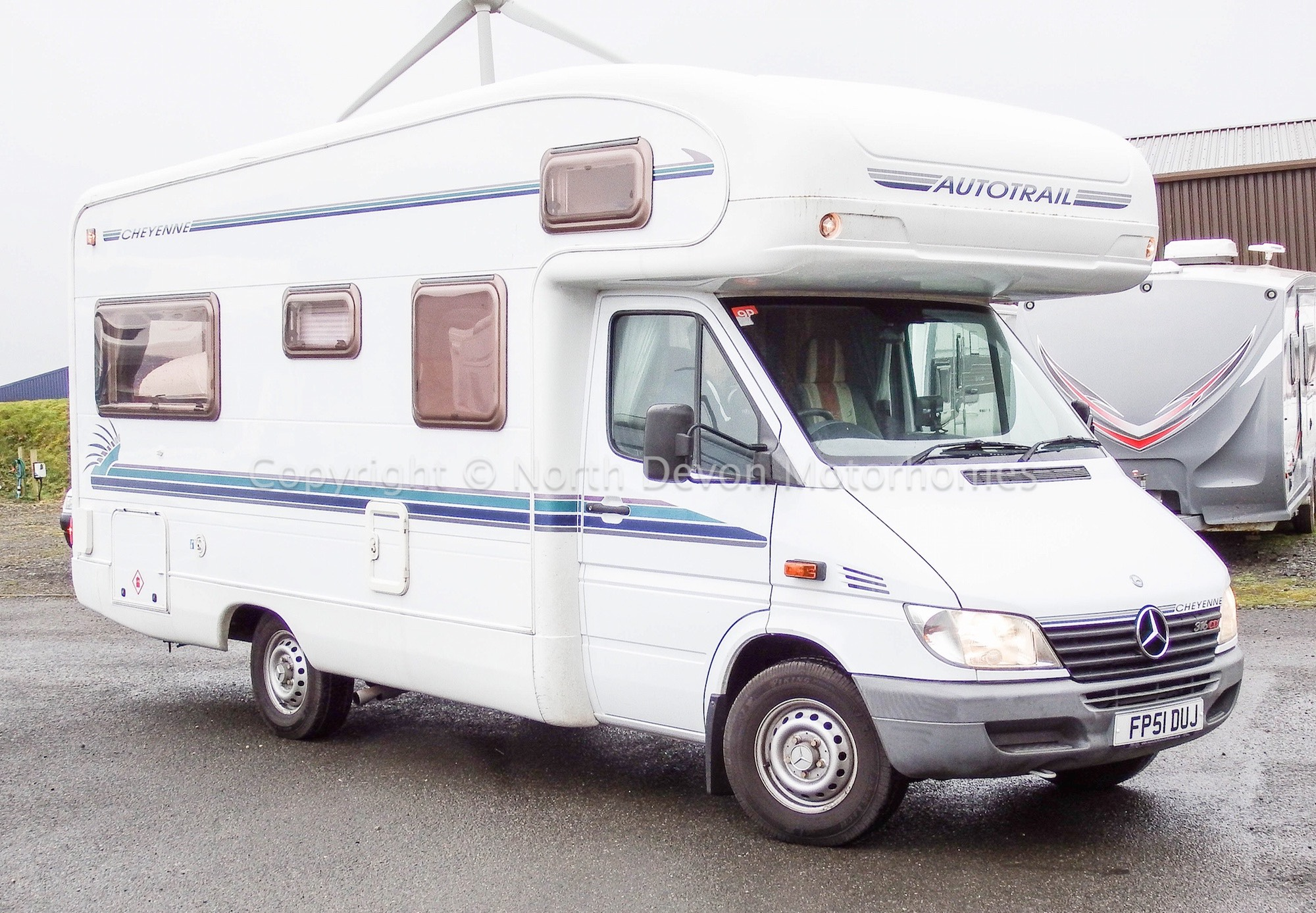 Sold Mercedes Autotrail Cheyenne 634l 2001 Auto With