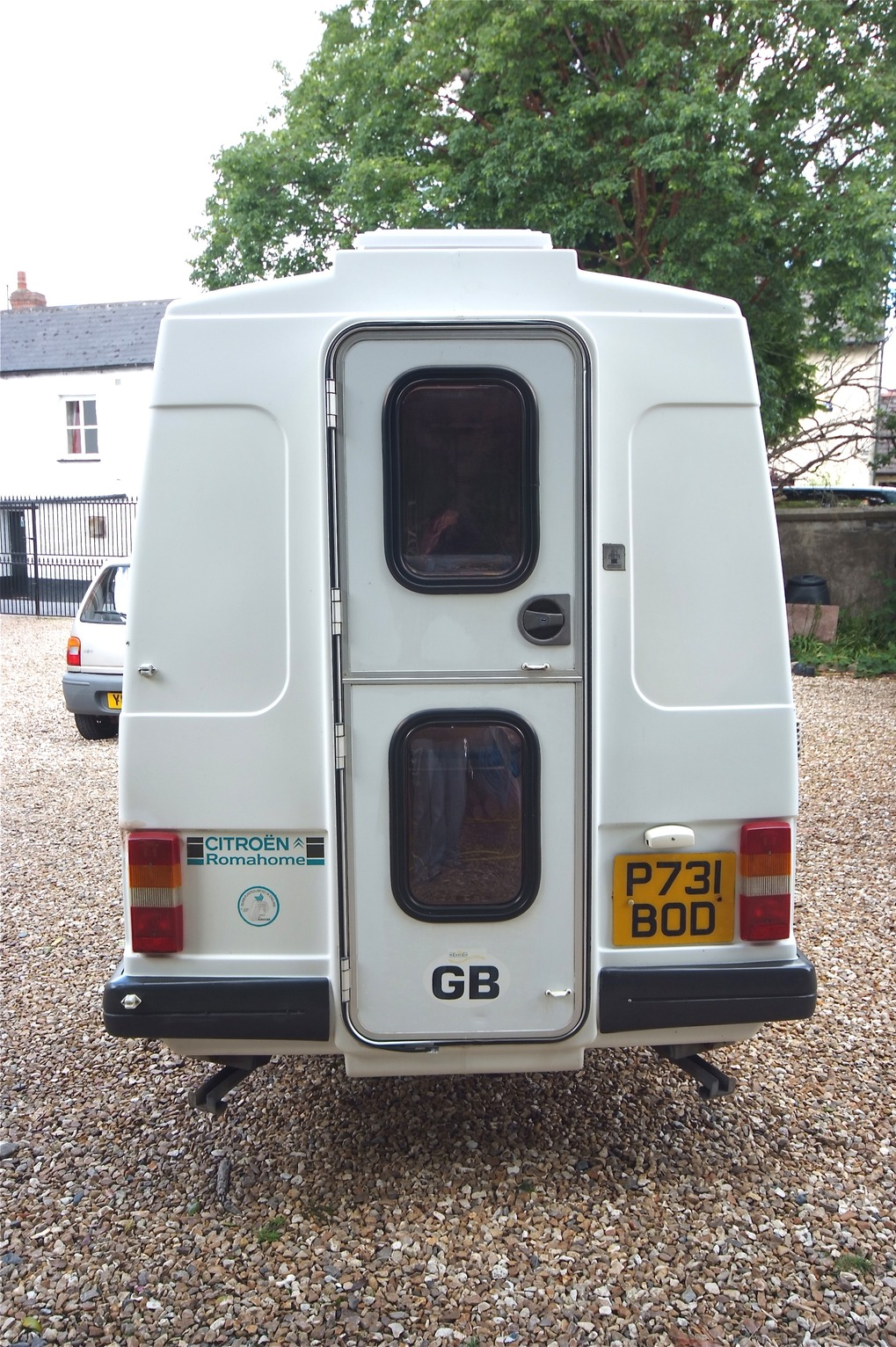 sold 1996 citroen c15 diesel romahome with pas north devon motorhomes 01271 866333. Black Bedroom Furniture Sets. Home Design Ideas