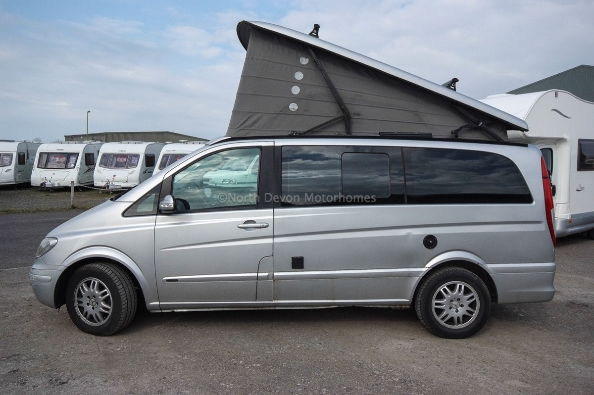 sold 2004 lhd mercedes westfalia marco polo automatic 2 2 td 4 berth pop top north devon. Black Bedroom Furniture Sets. Home Design Ideas